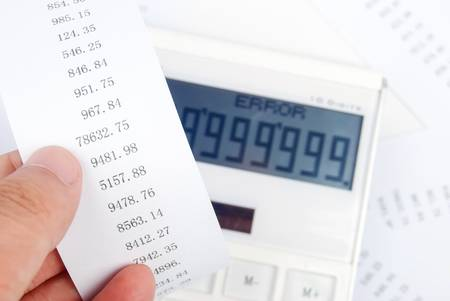 Calculator Stock Photo - 13690064