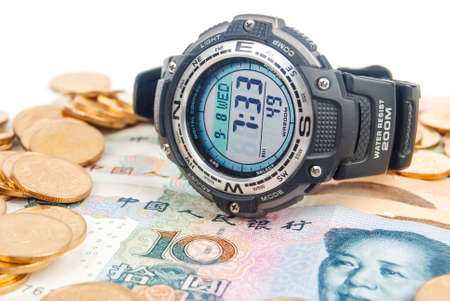 Digital watch Stock Photo - 13691462