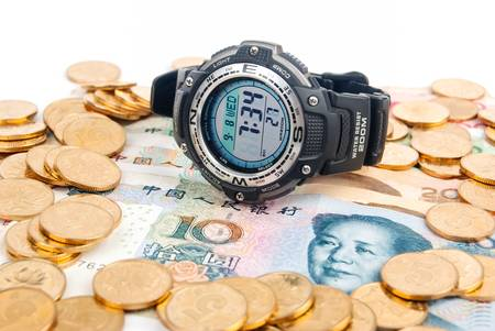 Digital watch Stock Photo - 13691461