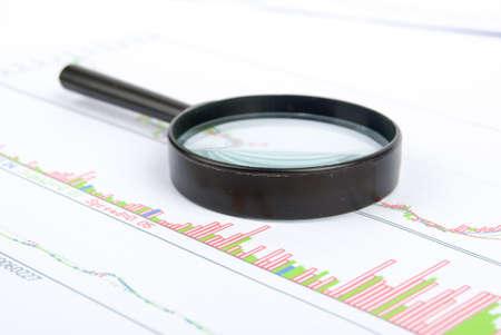 Financial data Stock Photo - 13689988
