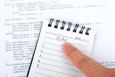 New plan Stock Photo - 13751822