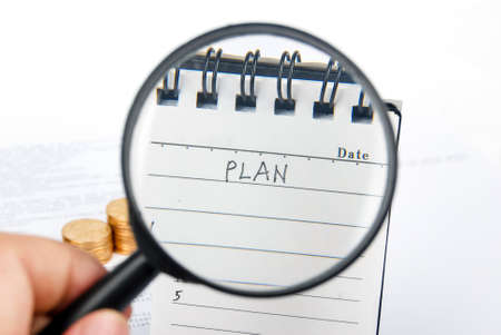 New plan Stock Photo - 13751641