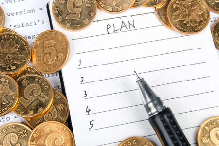 New plan Stock Photo - 13751915