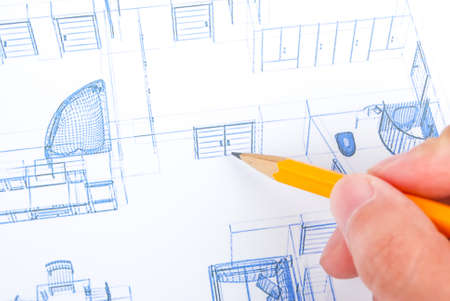 Blueprint Stock Photo - 13751800
