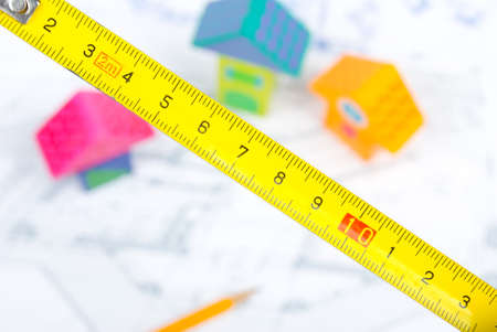 Planning new family house Stock Photo - 13751681