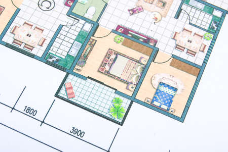 apartment abstract: House plans