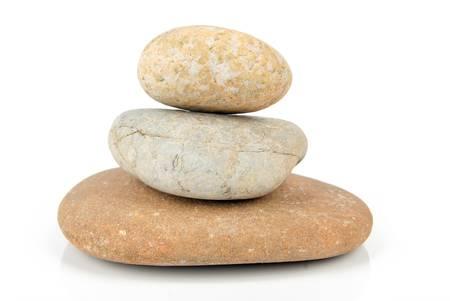 Stone balance Standard-Bild