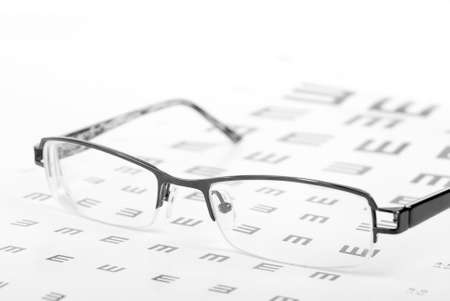 Eye chart Stock Photo - 13835534