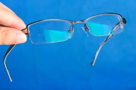 Glasses in hand Stock Photo - 13832695