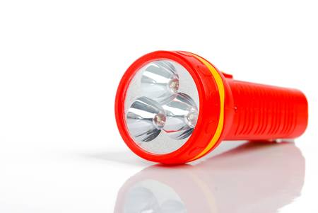 Flashlight Standard-Bild