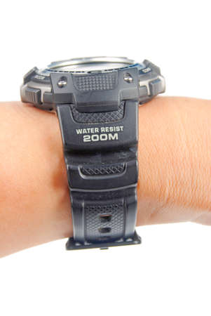 Digital watch photo