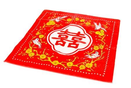 Chinese handkerchief Stock Photo - 13864918