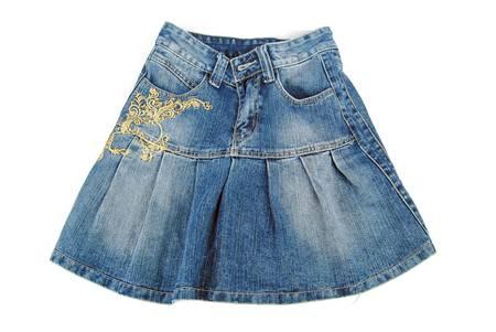jeanswear: Jean skirt