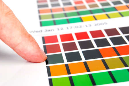 Color card photo