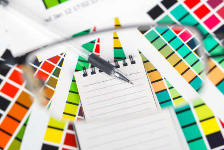 Color card Stock Photo - 13915240