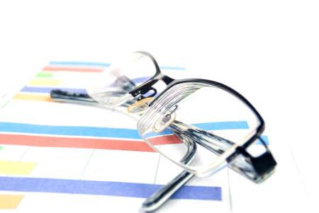histogram: Glasses with histogram