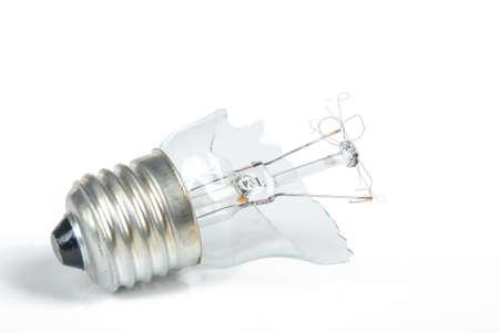 The broken light bulb Stock Photo - 13908288