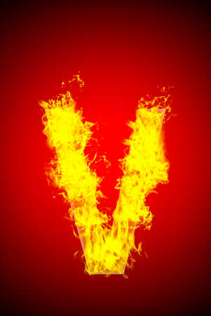 Fire letter photo
