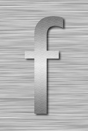 Stainless steel letter Stock Photo - 13975667