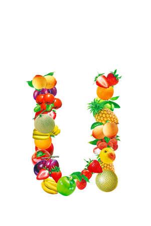 Fruit letter photo