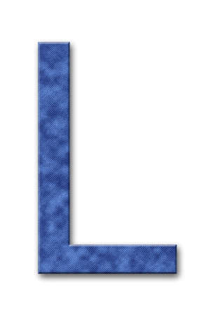 Jeans letter Banco de Imagens