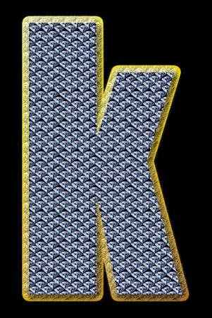 Diamond letter Stock Photo - 13976021