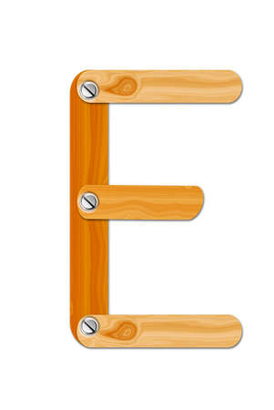 Wood letter photo