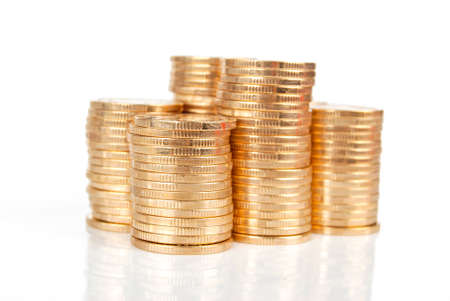 Stack coin Stock Photo - 13993836