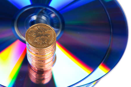 loot: DVD with coin