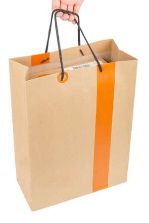 Brown paper bag photo