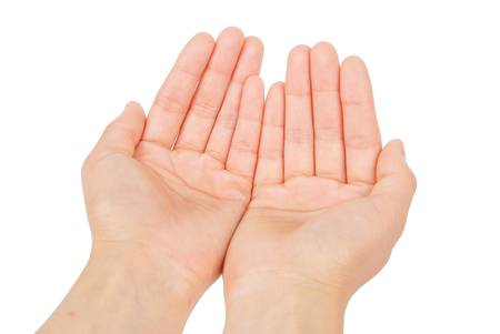 Human hand photo