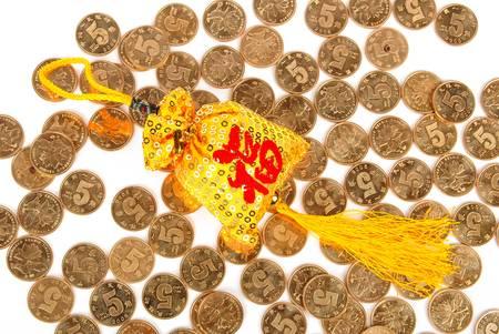 bolsita: Bolsita de monedas
