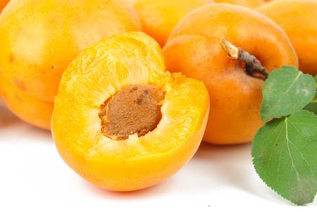 more mature: Apricot Stock Photo