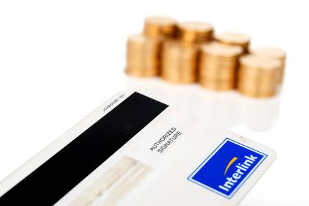 Credit card and coin Stock Photo - 14079320