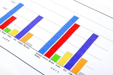 Finance graph Stock Photo - 14047148