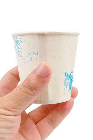 Disposable cup photo