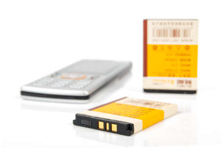 Mobile phone battery Stock Photo - 14091103