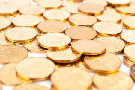 coins shot in golden color: Coin