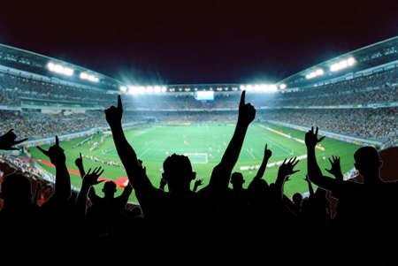Les fans de football