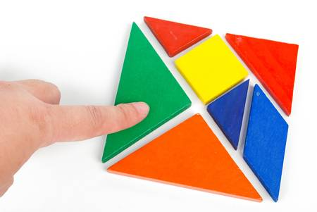 Tangram Stock Photo - 14067316