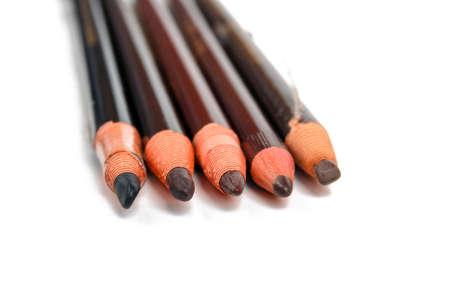 complexion: Eyeshadow pencil Stock Photo