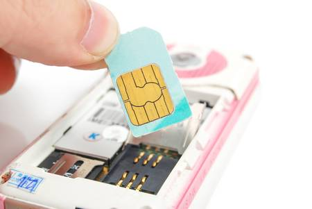 Sim card Stock Photo - 14104166