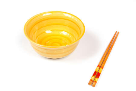 Bowl and chopstick Stock Photo - 14100270