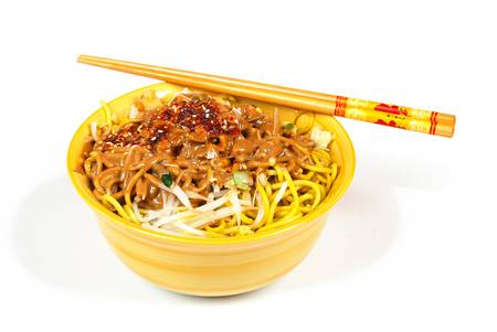 Bowl and chopstick Stock Photo - 14103352
