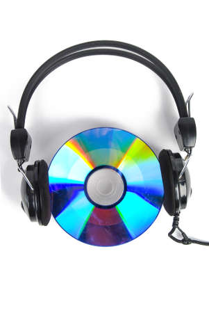 listening device: DVD and earphone