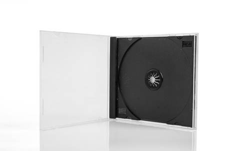 dvd case: DVD case Stock Photo