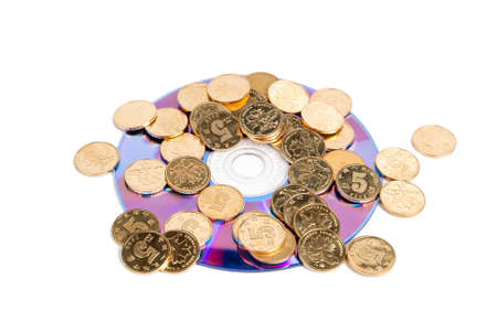 Coin and DVD photo