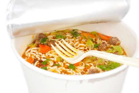 cooked instant noodle: Instant noodles