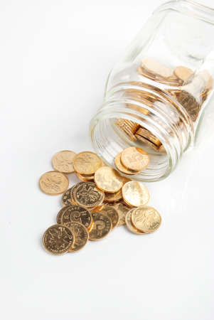Jar of coin photo