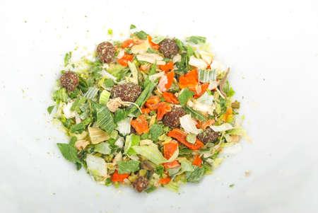 Vegetales deshidratados Foto de archivo